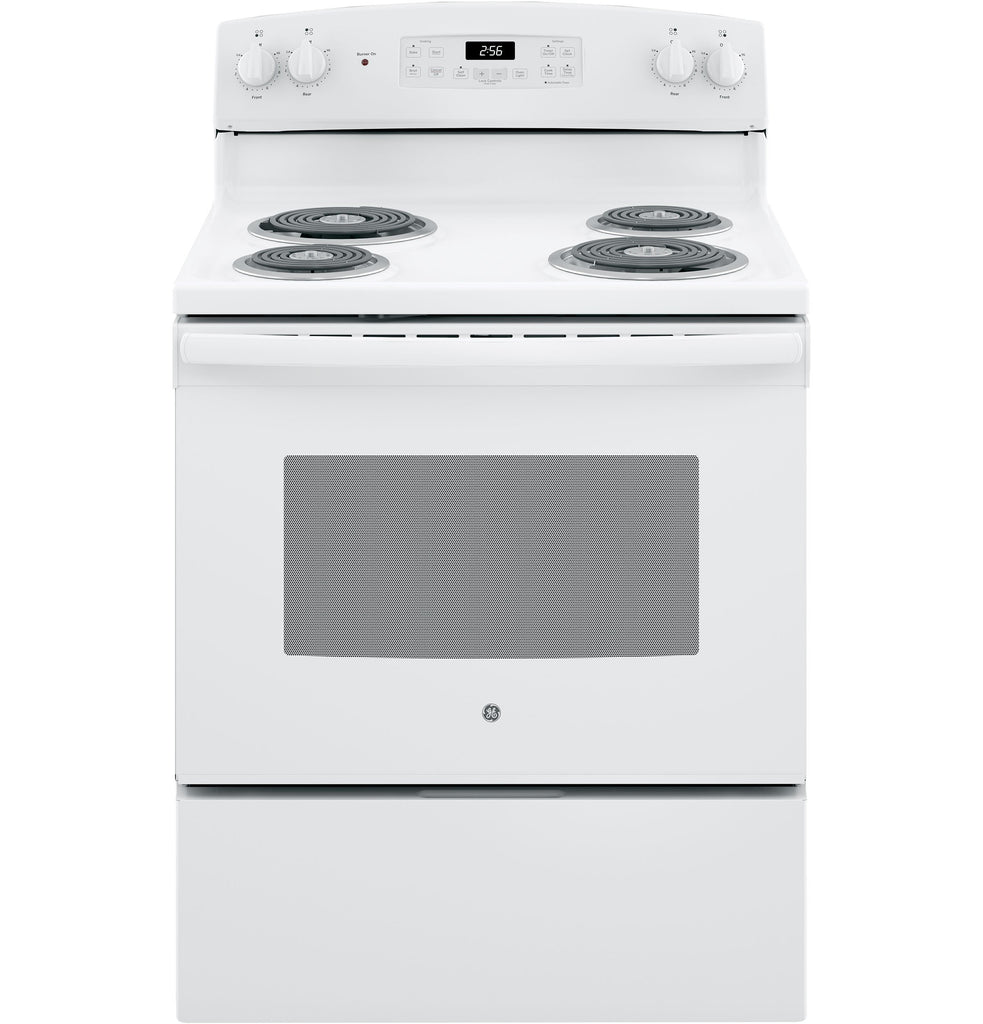 "GE 30"" Freestanding Electric Ranges in White"