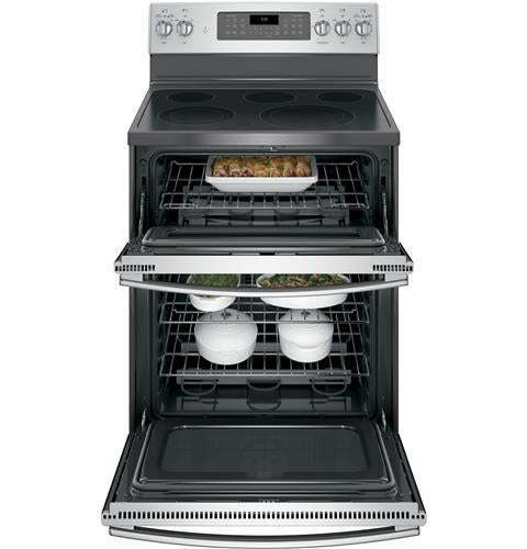"GE 30"" Electric Double Oven Convection Range"