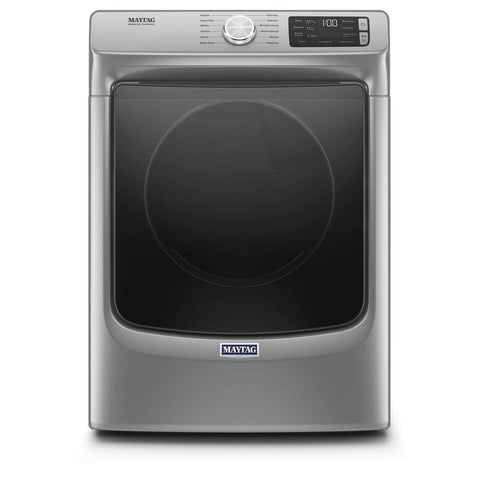 Maytag 7.3 Cu. Ft. Front Load Electric Dryer with Extra Power and Quick Dry Cycle in Metallic Slate