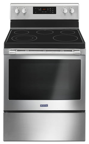 Maytag® 30-Inch Wide Electric Ranges with Shatter-Resistant Cooktop - 5.3 Cu. Ft.