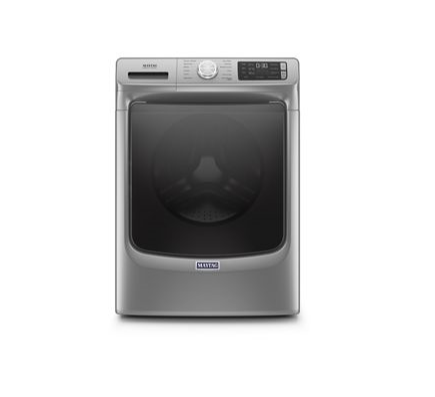 Maytag 4.8 Cu. Ft. Front Load Washer with Extra Power and 16-Hr Fresh Hold® Metallic Slate - Smart Neighbor