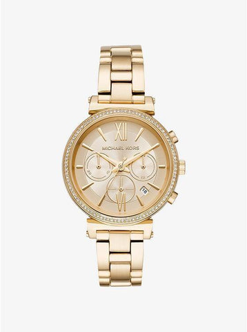 Michael Kors Sofie Gold-tone Stainless Steel Watch MK6559