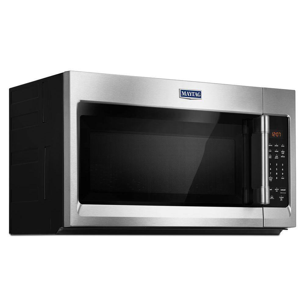 Maytag Compact 1.7 Cu. Ft. Over-the-Range Microwave