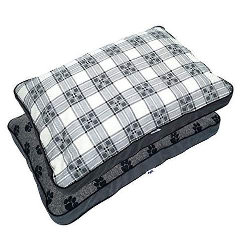MyPillow Pet Bed in Gray