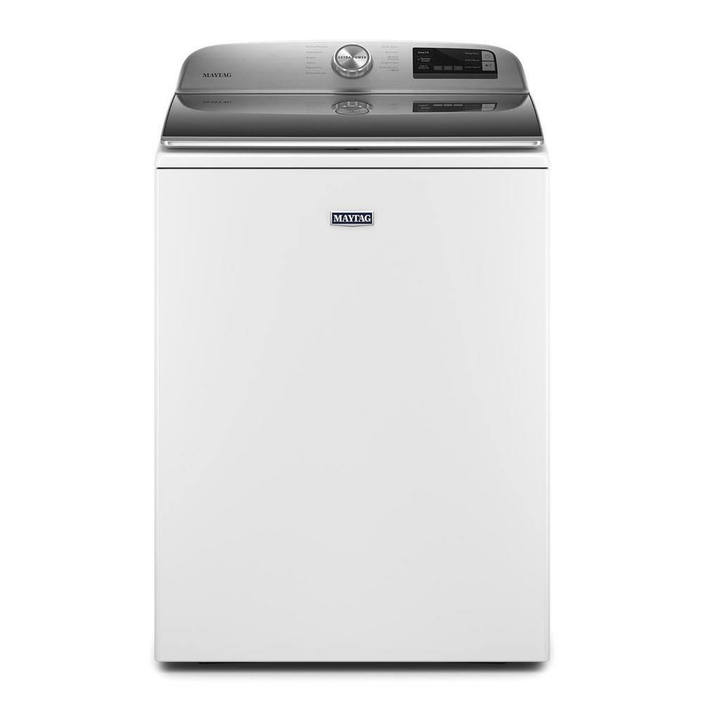 Maytag 4.7 Cu. Ft. Smart Capable Top Load Washer with Extra Power Button - Smart Neighbor