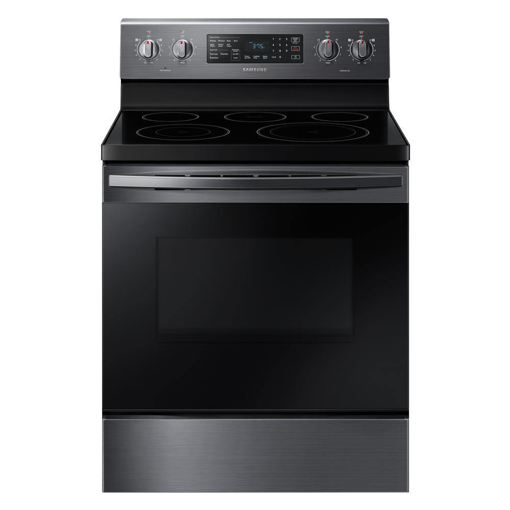 "Samsung 30"" Stainless Steel Electric Smoothtop Ranges"