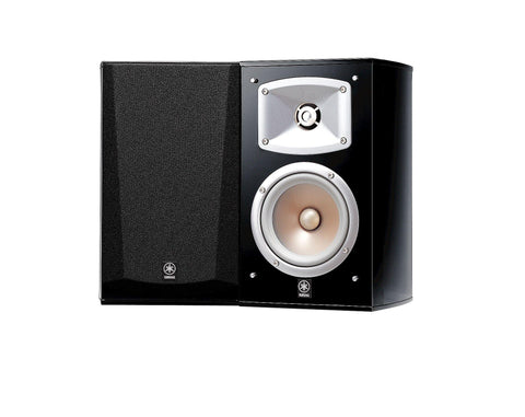 2-Way Bass Reflex Bookshelf Speaker System, Set of 2