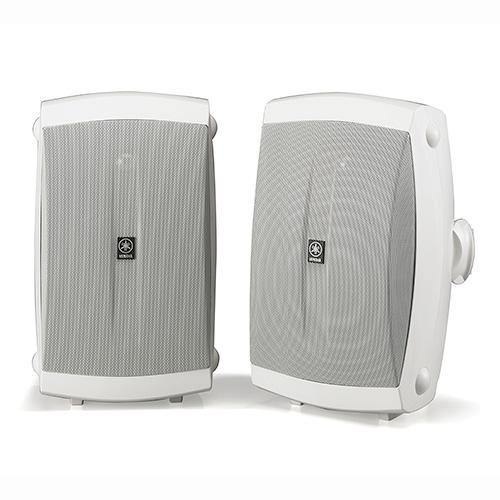 Yamaha High Performance 6.5-Inch Outdoor 2-Way Speakers, Set of 2