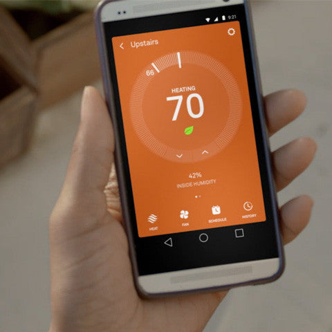 Nest Learning Thermostat Phone App