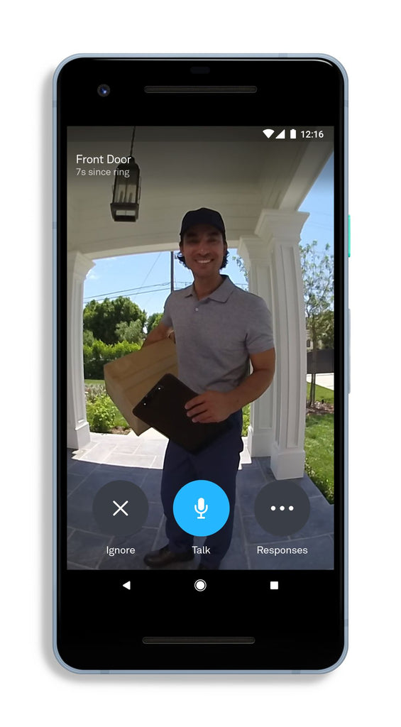 Google Nest Hello Smart Video Doorbell Camera