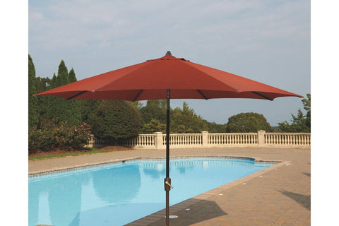 Large Auto Tilt Patio Umbrella