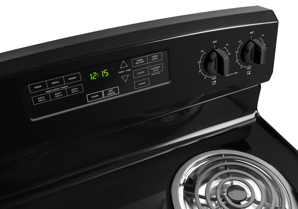 Amana 30-Inch Electric Ranges with Self-Clean Option