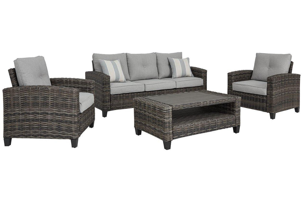 Ashley Cloverbrooke 4-Piece Outdoor Conversation Set