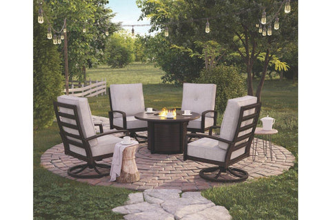 Castle Island 5-Piece Outdoor Conversation Set - Smart Neighbor