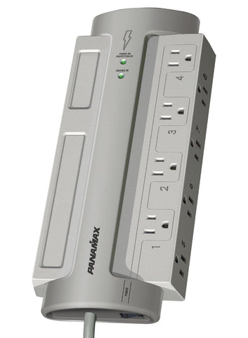 8-Outlet PowerMax Surge Protector