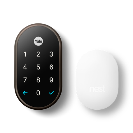 Nest x Yale Smart Lock with Google Nest Connect in Oil-Rubbed Bronze