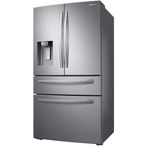 28 Cu. Ft. Samsung 4-Door French Door Refrigerator with FlexZone™ Drawer in Stainless Steel