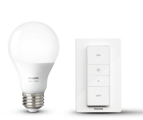 Philips Hue E26 White Light Dimming Kit