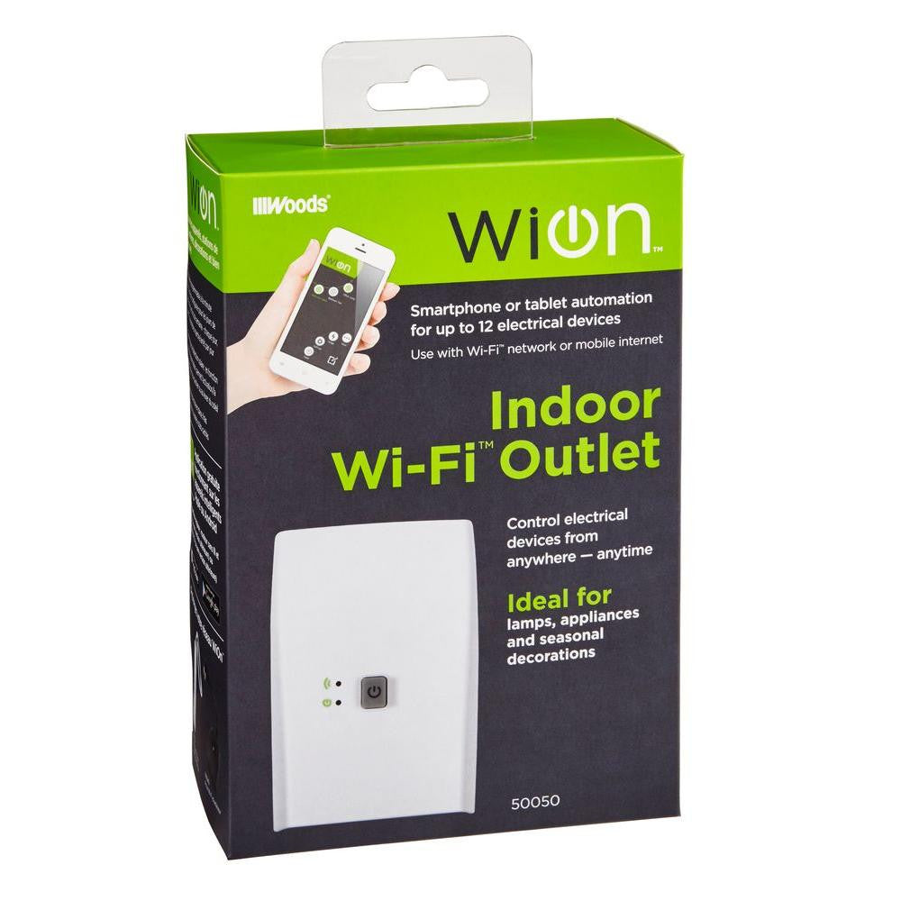 Southwire Woods WiOn Wi-Fi Outlet