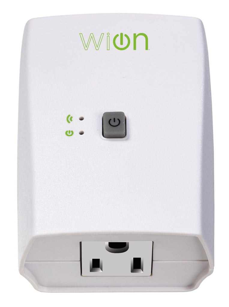 Southwire Woods WiOn Indoor Wi-Fi Outlet with Wireless Switch and Programmable Time