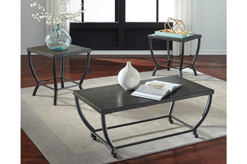 Ashley Champori 3-Piece Occasional Table Set
