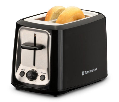 Toastmaster 2-Slice Cool Touch Toaster in Black