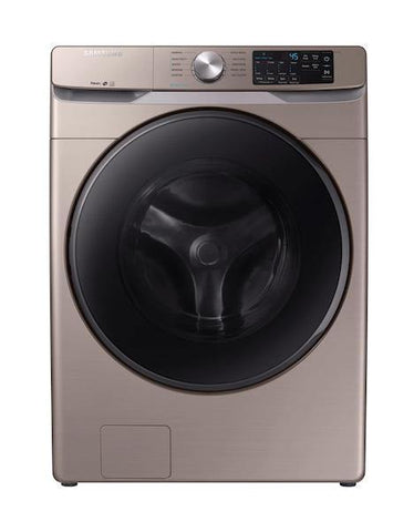 Samsung 4.5 Cu. Ft. Front-Load Washer with Steam in Champagne - Smart Neighbor