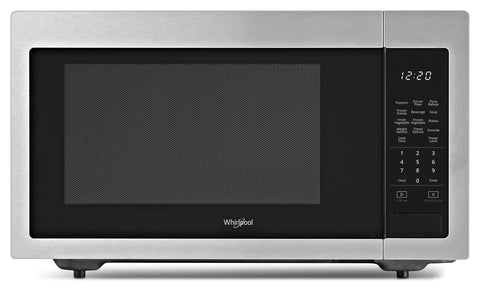 Whirlpool® 1.6 Cu. Ft. Countertop Microwave with 1,200-Watt Cooking Power