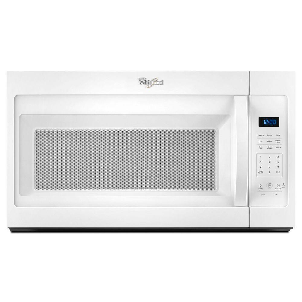 Whirlpool 1.7 Cu. Ft. Over-the-Range Microwave