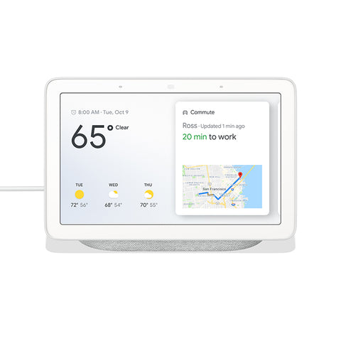 Google Home Hub in Chalk