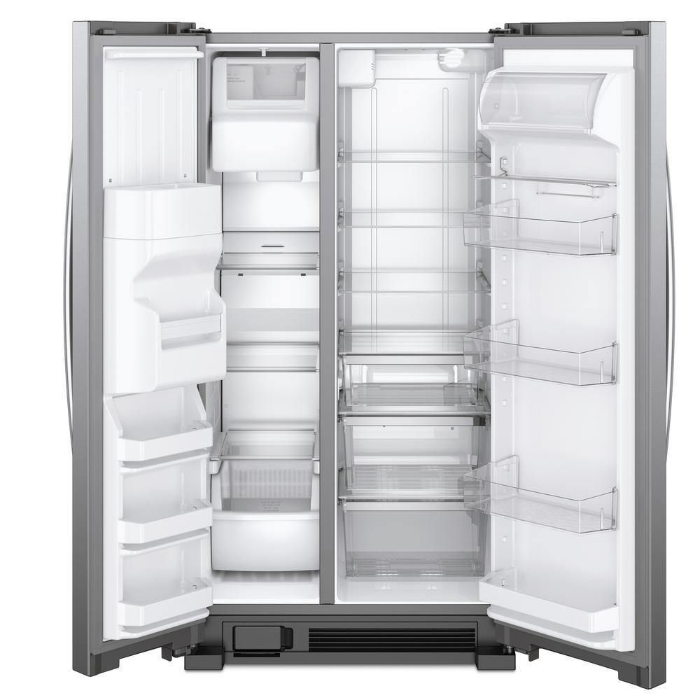 "Whirlpool 25 Cu. Ft. 36"" Wide Side-by-Side Refrigerator"