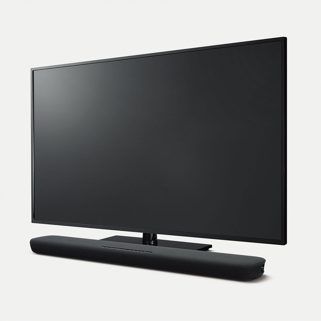 Yamaha Sound Bar with Built-in Subwoofers and Built-in Alexa