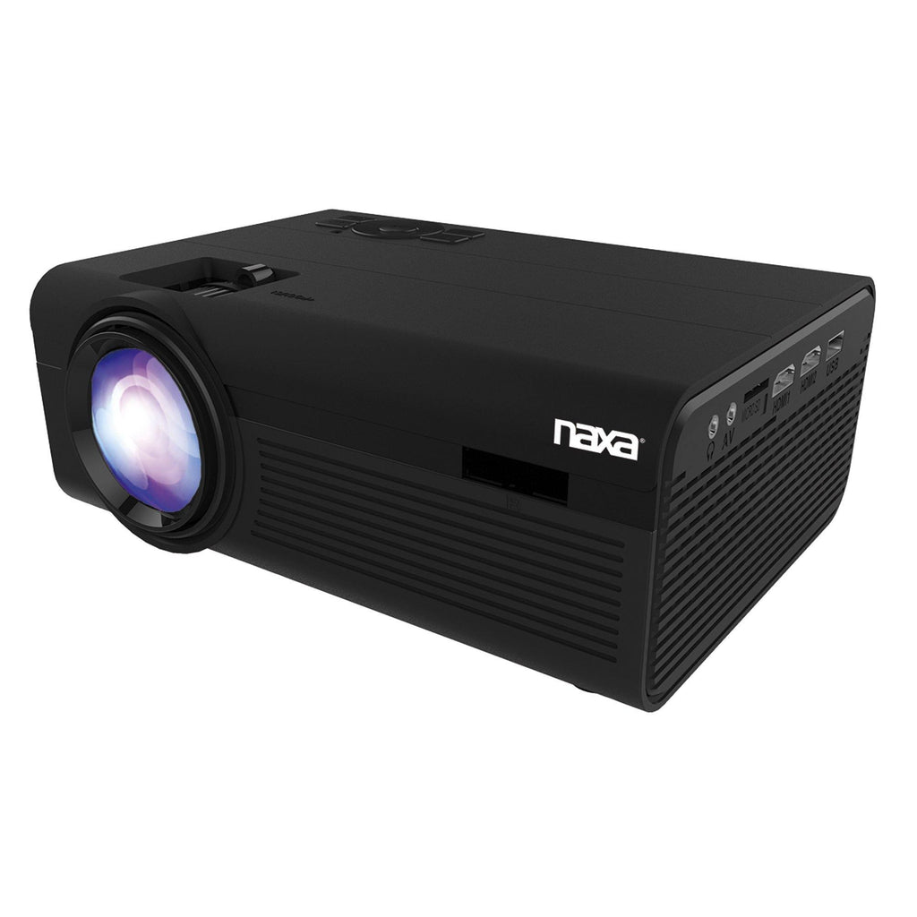 Naxa NVP-2000 150-Inch Home Theater 720p LCD Multimedia Projector with Bluetooth