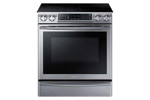 Samsung 5.8 Cu Ft Slide-in Induction Range with Virtual Flame