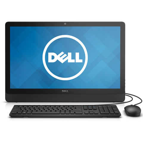 "Dell All-in-One Desktop Computer with 23.8"" Screen"