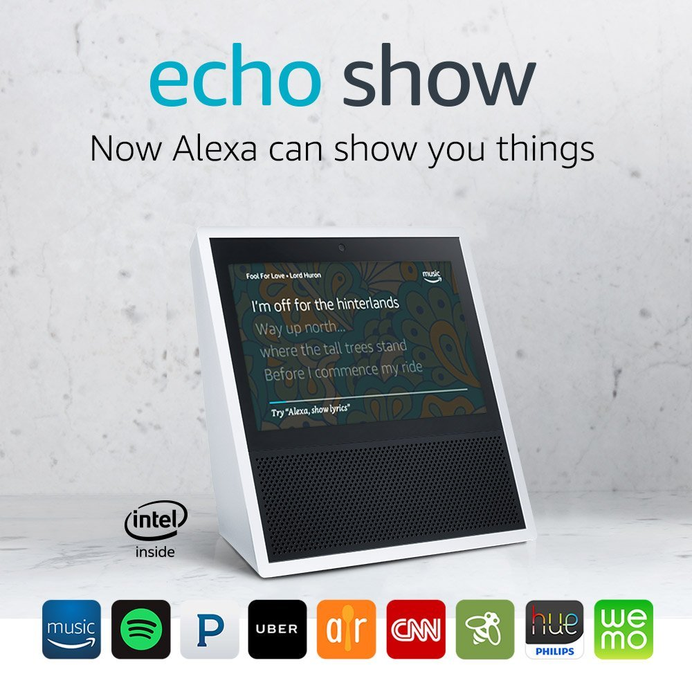 Echo Show (1st Gen.) Black