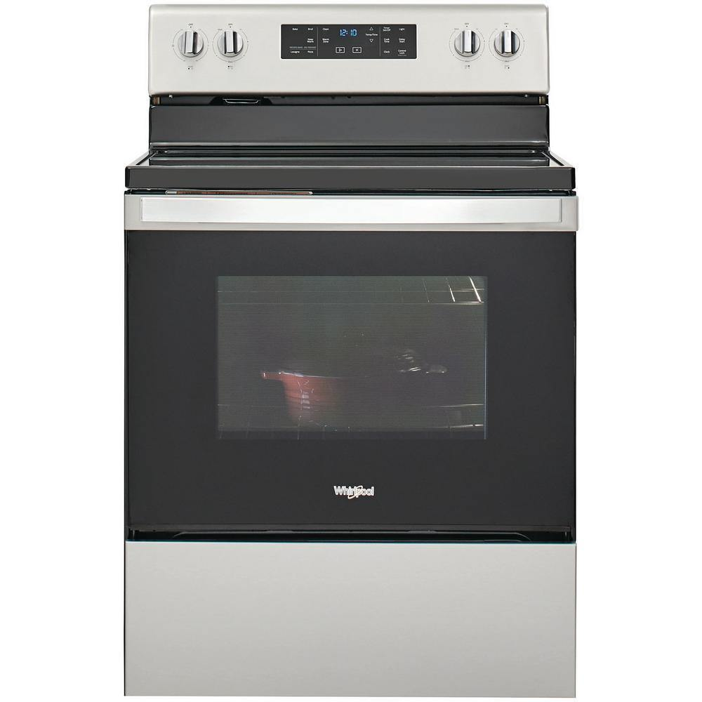 Whirlpool® 5.3 Cu. Ft. Electric Glass-Top Ranges