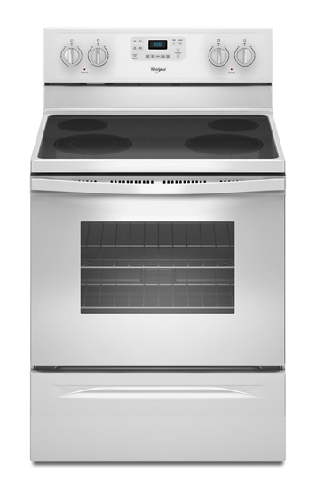 Whirlpool 5.3 Cu. Ft. Electric Range with Ceramic Cooktop