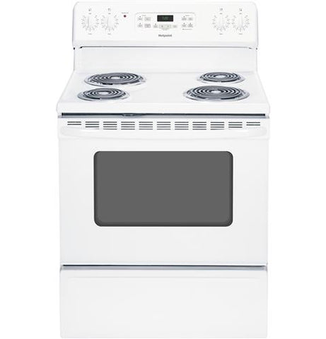 Hotpoint 5.0 Cu. Ft. Freestanding Electric Oven and Range