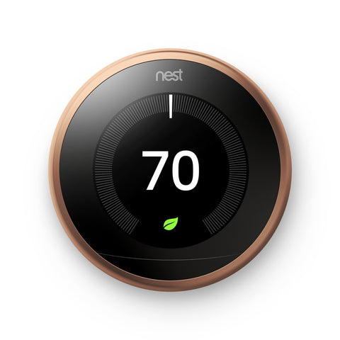 Nest Learning Thermostat 3rd Generation (Copper)