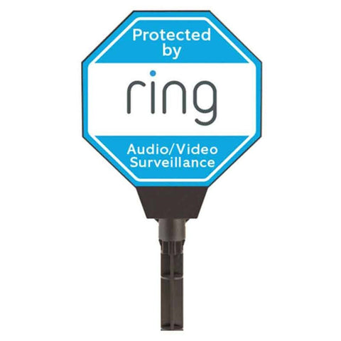 Ring Solar Powered Yard Sign