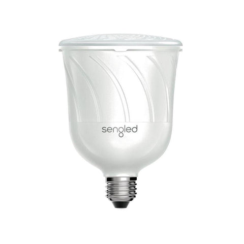 Sengled Pulse 15 W Pearl White Dimmable LED Light Bulb with Bluetooth Speakers