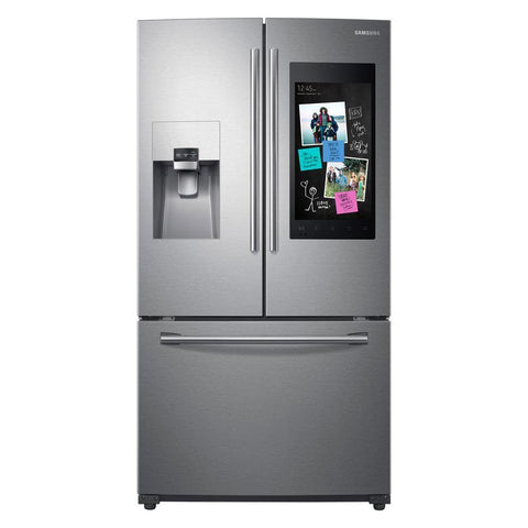 Samsung 24 Cu. Ft. 3-Door French Door Refrigerator with Family Hub™