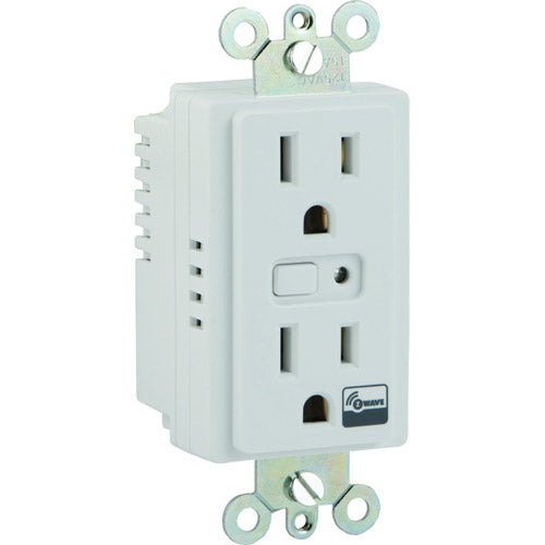 GE Z-Wave In-Wall Smart Outlet
