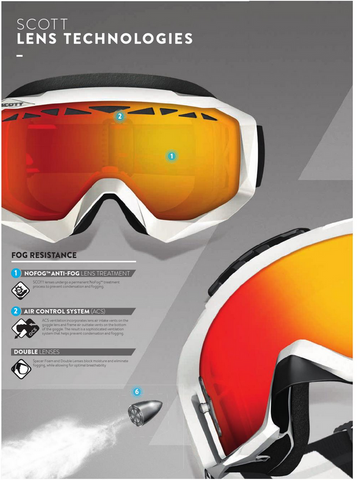 SCOTT HUSTLE TYRANT THERMAL LENSES - MICA ONLINE SALES  - 1