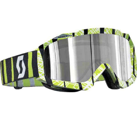 SCOTT HUSTLE GRAPHIC CHROME MX GOGGLES - MICA ONLINE SALES  - 2