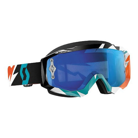 SCOTT HUSTLE GRAPHIC CLEAR LENS GOGGLES - MICA ONLINE SALES  - 2