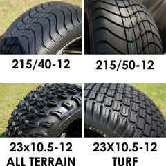 AVAILABLE TIRES