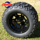 "10"" BULLDOG - BLACK - WHEELS"