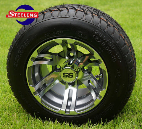 "10"" BULLDOG - GUNMETAL - WHEELS"